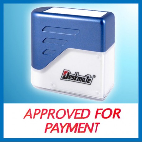 Deskmate KE-A07 APPROVER FOR PAYMENT Pre-Inked Chop