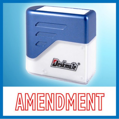 Deskmate KE-A05 AMENDMENT Pre-Inked Chop