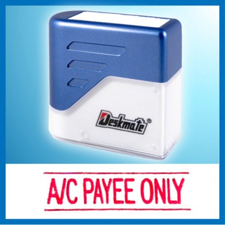 Deskmate KE-A04 A/C PAYEE ONLY Pre-Inked Chop