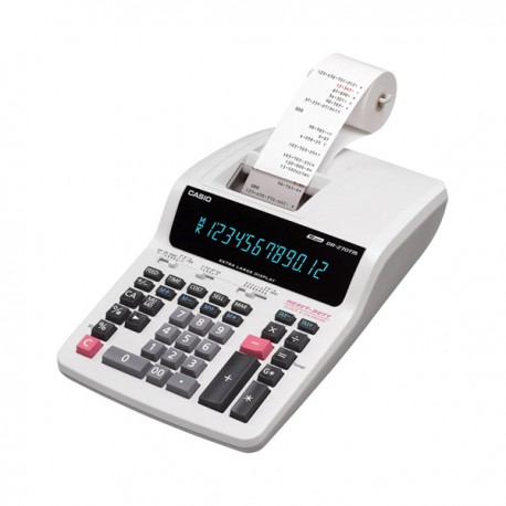 Casio DR-270R 2-color Print Calculator 12 Digits