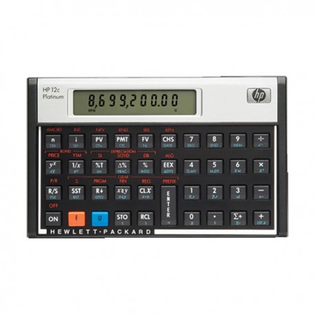 HP 12C Platinum Financial Calculator 10 Digits