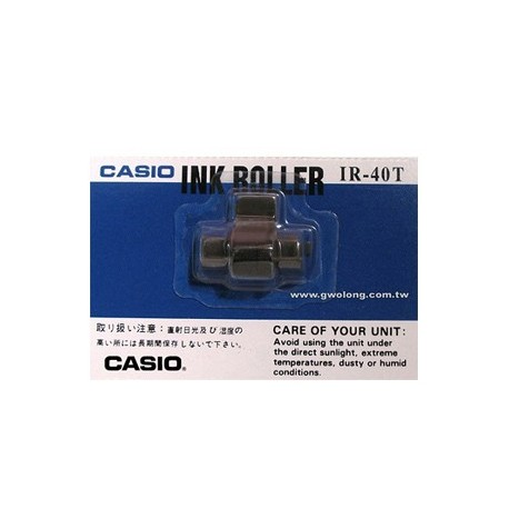 Casio IR-40T Calculator Ink Roll 2Colors Black and Red