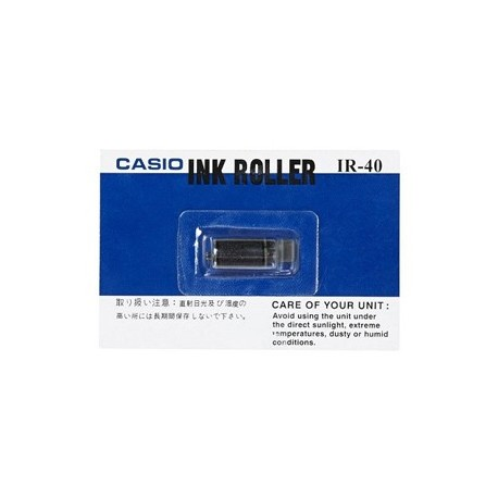 Casio IR-40 Calculator Ink Roll Black