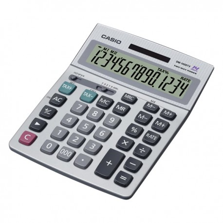 Casio DM-1400TV Calculator 14 Digits