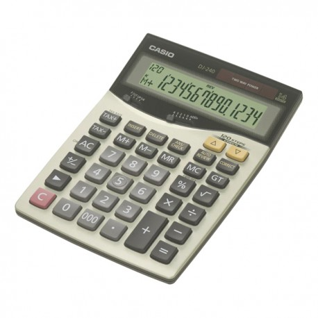 Casio DJ-240 Calculator 14 Digits