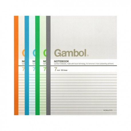 "Gambol G6507 Note Book B5 7""x10"" 50Pages"