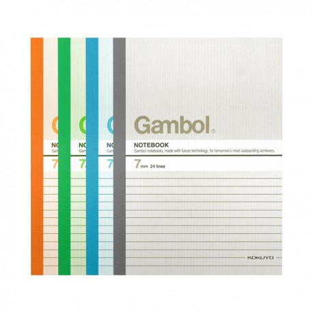 "Gambol G5807 Note Book A5 6""x8"" 80Pages"