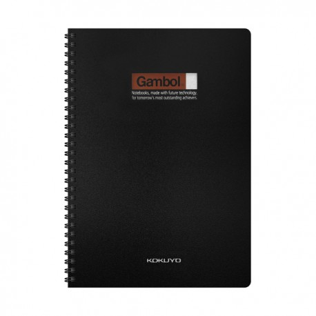 Gambol DS6000 PP Twins Wire Ring Note Book B5 60Pages