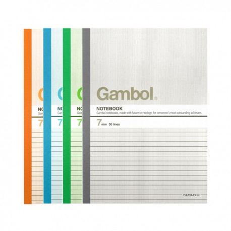 "Gambol G6807 Note Book B5 7""x10"" 80Pages"