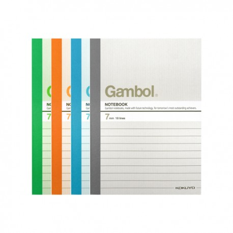 "Gambol GA6806 Note Book A6 4""x6"" 80Pages"