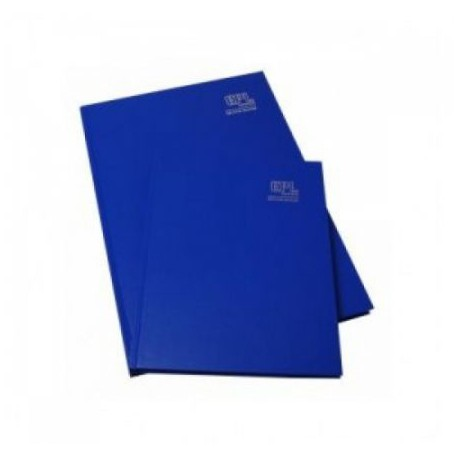 藍色簿面硬皮簿 8吋x13吋 100頁