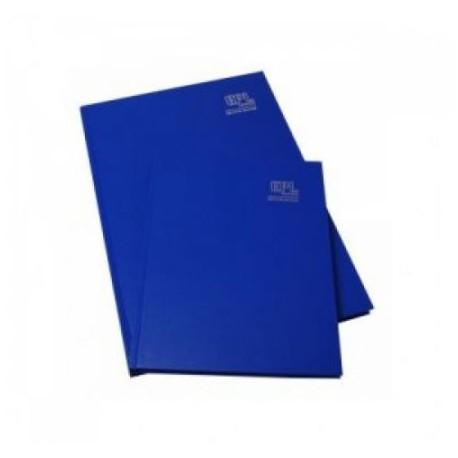 藍色簿面硬皮簿 6吋x8吋 100頁
