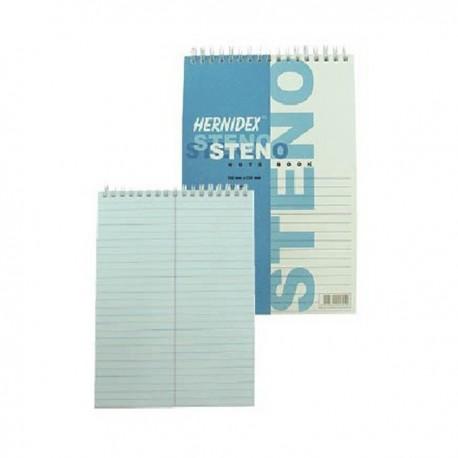 "Hernidex Shorthand Book A5 6""x9"""