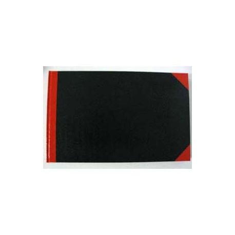 紅黑硬皮簿 13吋x8吋 200頁 橫度
