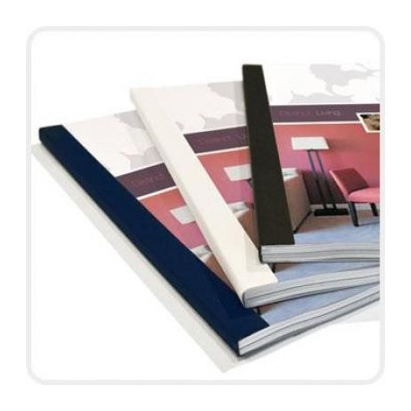 Thermal Binding Cover A4 4mm 100's White