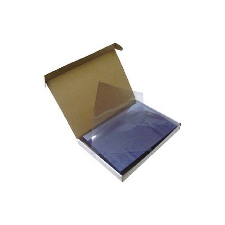 Plastic Binding Cover F4 0.3mm 100Sheets Clear
