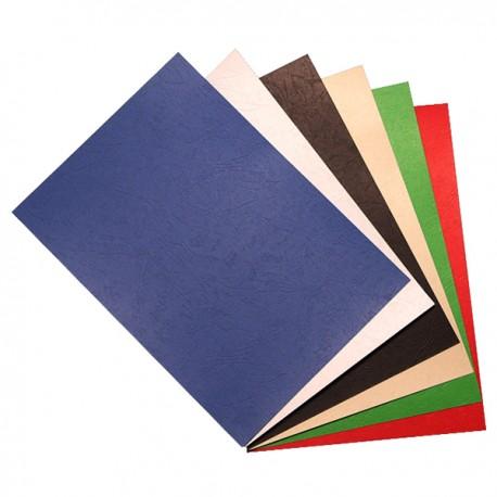 皮紋釘裝咭紙 A4 480磅 100張 綠色