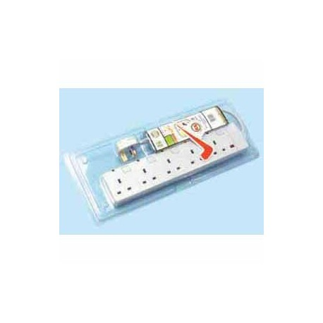 FYM Indivdual Switches Extension Socket 13Ax5