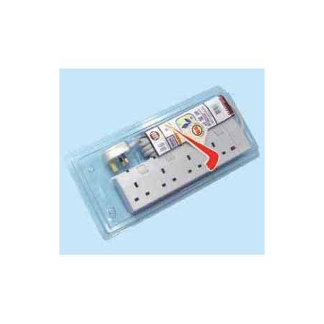 FYM Individual Switches Extension Socket 13Ax3