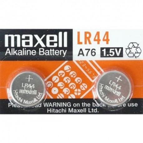Maxell LR44 Lithium Battery 1.5V