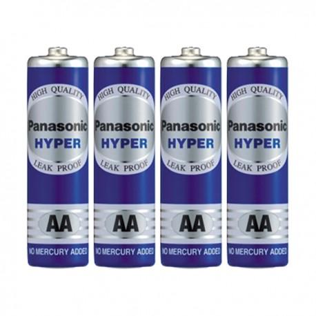 樂聲牌 Hyper 碳性電池 2A 4粒