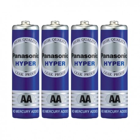 Panasonic Hyper Manganese Battery 2A 4pcs