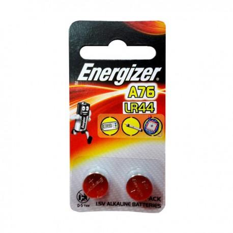 Energizer LR44/A76 Lithium Battery 1.5V 2's