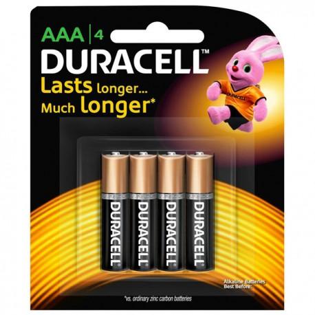 Duracell Alkaline Battery 3A 4's