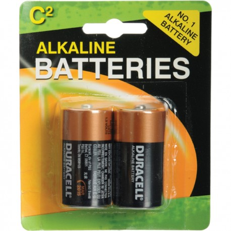 Duracell Alkaline Battery C 2pcs