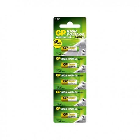 GP 23AE Ultra Alkaline Battery High Voltage 12V 5pcs
