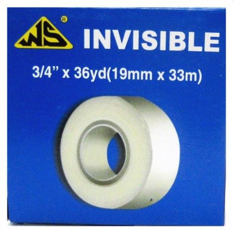 "WS Invisible Tape 3/4""(19mm)x36yds"