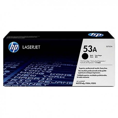 HP Q7553A 53A Toner Cartridge Black