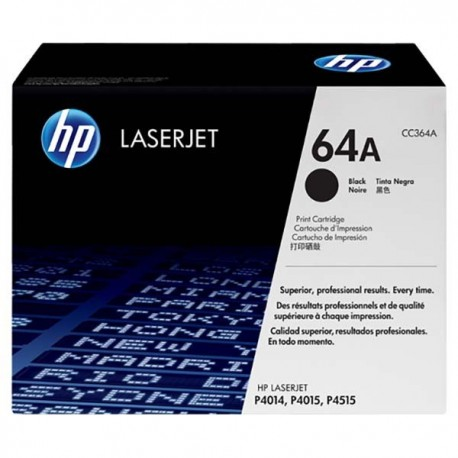 HP CC364A 64A Toner Cartridge Black