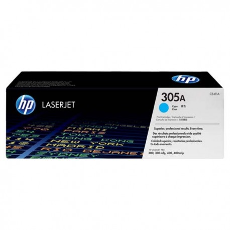 HP CE411A 305A Toner Cartridge Cyan