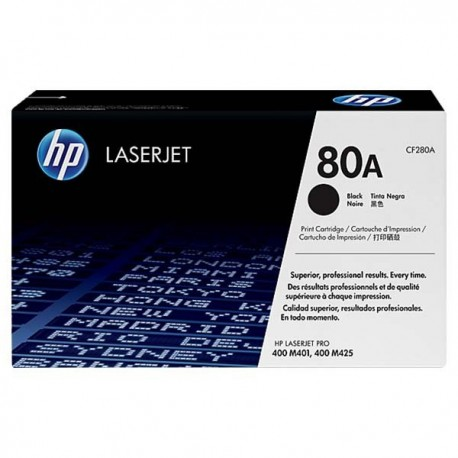 HP CF280A 80A Toner Cartridge Black