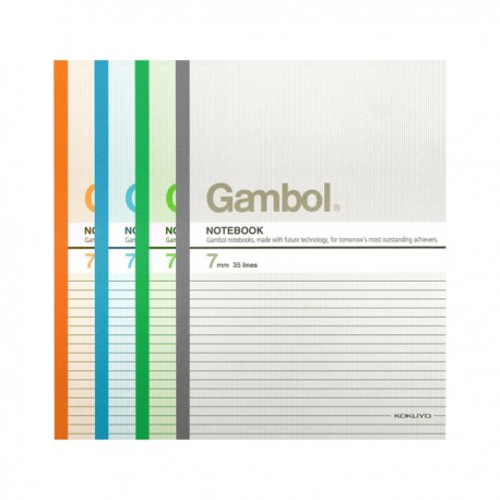 "Gambol G4507 Note Book A4 8""x11"" 50Pages"
