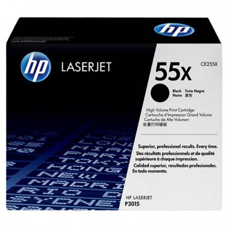 HP CE255X 55X Toner Cartridge Black