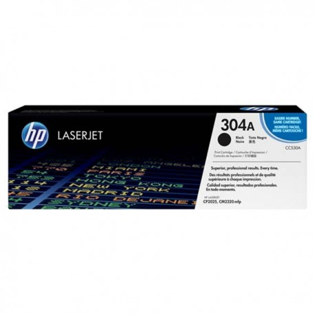 HP CC530A 304A Toner Cartridge Black