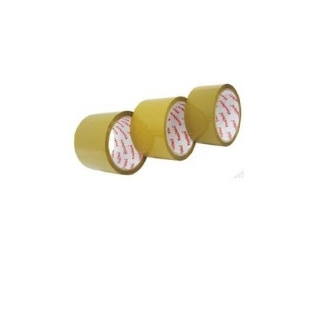 "Red Flexible OPP Packing Tape 2.5""x40yds Brown"