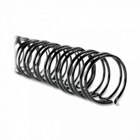 M&A 3:1 Double Wire Binding Ring A4 6.4mm 100's Black