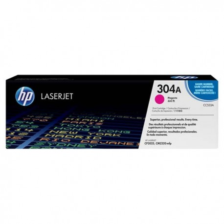 HP CC533A 304A Toner Cartridge Magenta