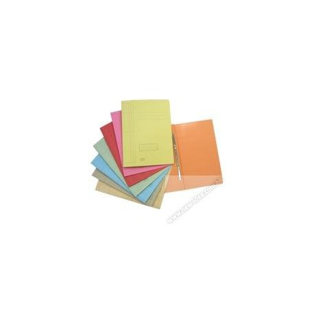 Esselte Paper Folder w/Fastener F4 Orange