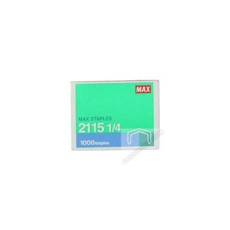 Max 2115-1/4 B8 Staples 1000's