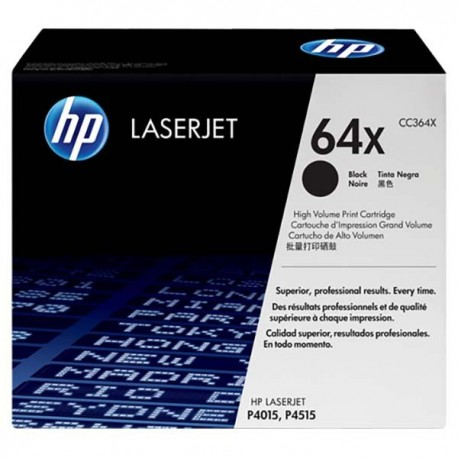 HP CC364X 64X Toner Cartridge Black