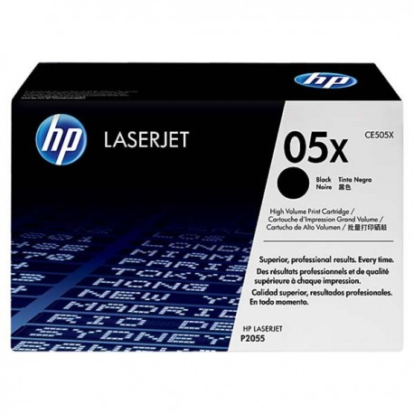 HP CE505X 50X Toner Cartridge Black