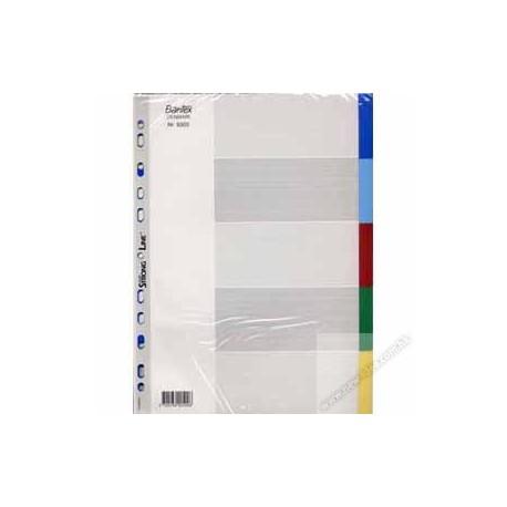Bantex 6005 PVC Color Index Divider A4 5Tabs