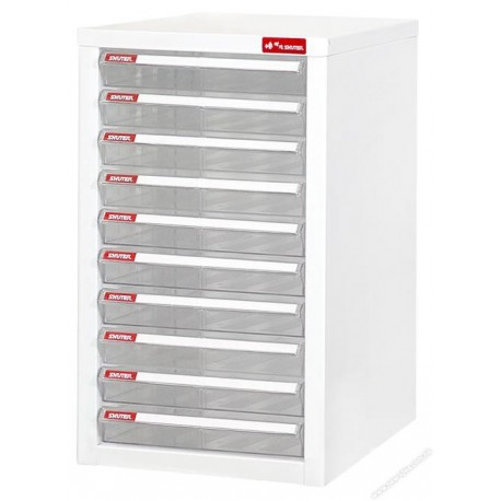 Shuter A4-110P Desktop Cabinet With 10-Drawer