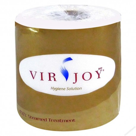 Virjoy Bathroom Tissue Roll 2-Ply 10's Golden Pack
