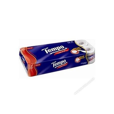 Tempo Bathroom Tissue Roll 3-Ply Neutral 12Rolls