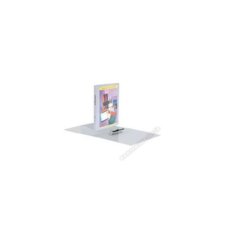 Database 640C 2D Ring PP Insert Binder A4 25mm Grey